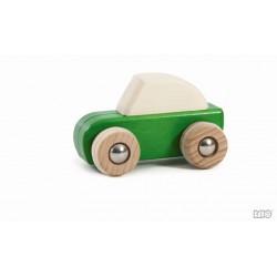 Auto grün zum zurückziehen