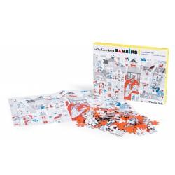 Puzzle in der Stadt /...