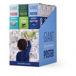 Display Giant Coloring Poster