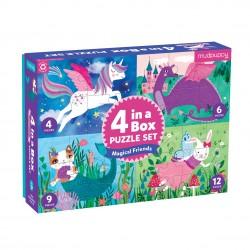 4 in a  Box Magical Friends