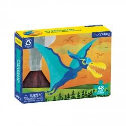 48 PC Mini Puzzle Pterosaur