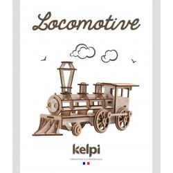 Lokomotive weiss