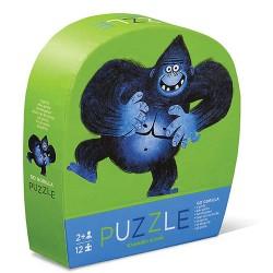 12 pc Mini Puzzle Go Gorilla