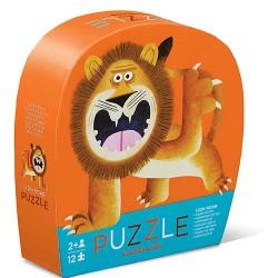 12 pc Mini Puzzle Lion Roar