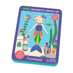Magnetic Tin Purrmaid