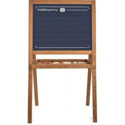 Schulwandtafel Vintage