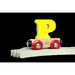 Wagen Buchstabe P