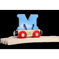 Wagen Buchstabe M