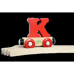 Wagen Buchstabe K