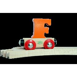 Wagen Buchstabe F