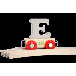 Wagen Buchstabe E