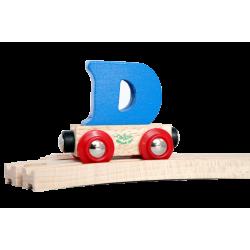 Wagen Buchstabe D