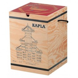 Holz-Koffer 280 Plättchen