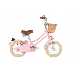 Gingersnap Bike pink 12""