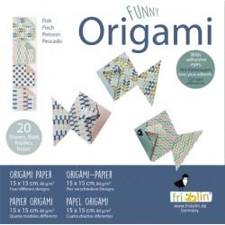 Funny Origami Fische 15 x...