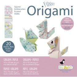Funny Origami Eichhörnchen...