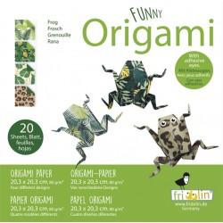 Funny Origami Frösche 20 x...