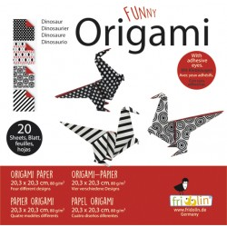 Funny Origami Saurier 20 x...