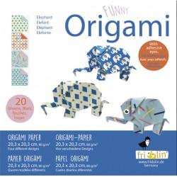 Funny Origami Elefanten 20...