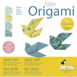 Funny Origami Tauben 20 x...
