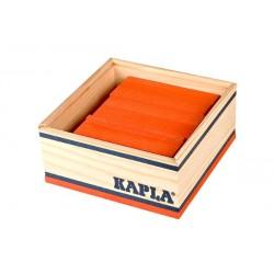 40er Quadrat orange