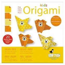 Kids Origami  Hunde 15 x 15 cm