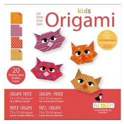 Kids Origami Katzen 15 x 15 cm