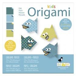 Kids Origami Fische 15 x 15 cm