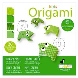 Kids Origami Frösche 15 x...