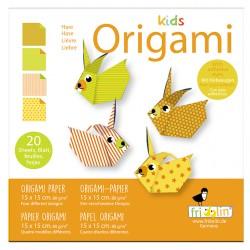 Kids Origami Hasen 15 x 15 cm