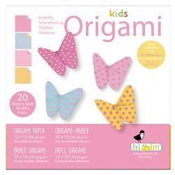 Kids Origami Schmetterlinge...