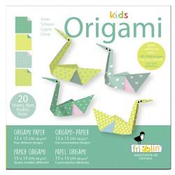 Kids Origami Schwäne 15 x...