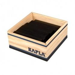 40er Quadrat schwarz