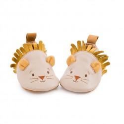 Leder Babyschühchen Löwe...
