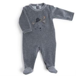 Pyjama Velours 6 Monate