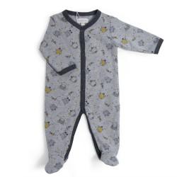 Pyjama Jersey grau 6 Monate