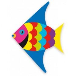Drache Fisch Multicolor