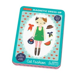 Magnetic Tin Cat Fashion