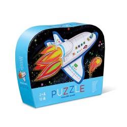 12 pc Mini Puzzle Rocket