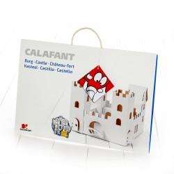 Burg mit Figuren