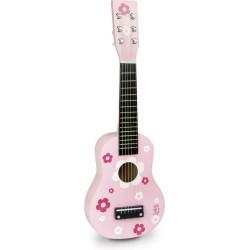 Gitarre mit Blumen