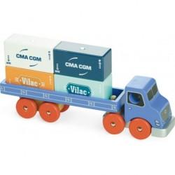 Container Lastwagen