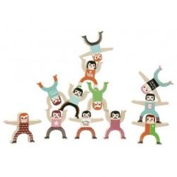 Akrobaten aus Holz von...