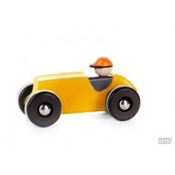 Retro Car gelb