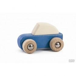 Auto blau zum zurückziehen