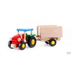 Traktor mit Anhänger Kipper