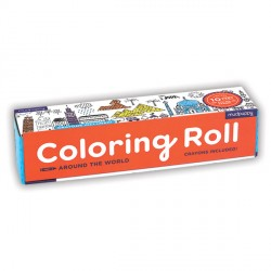 Coloring Roll Around the World
