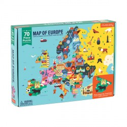 70 PC Geography Puzzle Europe