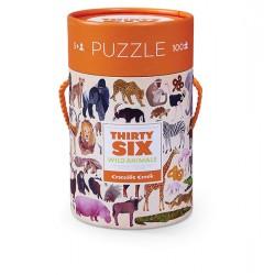 100 pc Puzzle Wild Animals