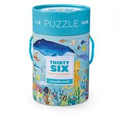 100 pc Puzzle Ocean Animals